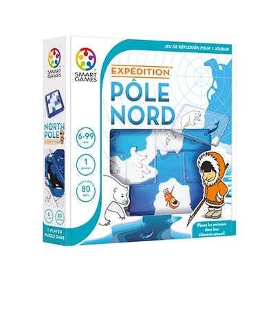 Smartgames, expédition pôle nord, banquise, jeux enfants, Arctic05, inuits, chasseur, ours polaire, esquimau, défis logiques, kids et famille, arctique
